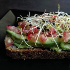 tosta aguacate